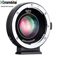 Commlite CM-AEF-MFT Booster AF Lens Adapter For Canon EOS EF Lens To Micro 4/3