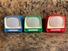 Lot of 3 - Vintage Souvenir Television Viewfinder - The Shepherd OF The Hills