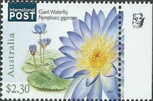 2017 $2.30 'Water Plant' IP 1 Koala Reprint Stamp:Right Selve Edge