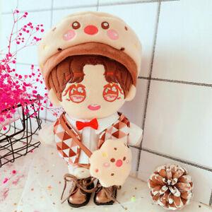 Handmade WANNA ONE EXO Jungkook JIN V Plush Doll's Clothes Cookies Set 【no doll】