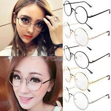 Harry Potter Lunettes Ronde Glasses Métal pour Cosplay Bal Soirée Cadeau Gadget