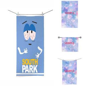 new south park towelie Custom Bath Towel beach bath pool yoga gym sport