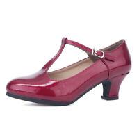 Girls Ladies Latin Dance Shoes Women High Heel Shoes Soft Indoor Outdoor Dancing