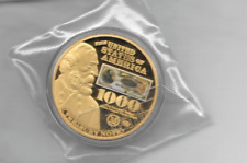 1890 $1000 TREASURY NOTE COMMEMORATIVE COIN PROOF LUCKY MONEY  VALUE $99.95