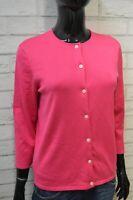 Ralph Lauren Donna M Cardigan in Seta Maglione Maglia Pullover Sweater Woman