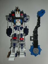 2006 Transformers Cybertron Leader Class Metroplex Action Figure Incomplete