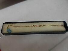 Bracciale Argento 925 UNOAERRE dorato intervallo vero corallo-silver bracelet
