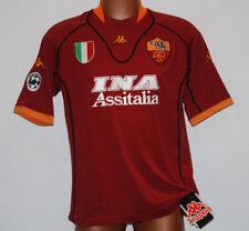 maglia Totti Roma scudetto 2001 2002 KappaN0 match worn Ina Assitalia NUOVA XL
