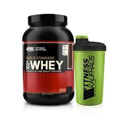 Optimum Nutrition 100% Whey Gold Standard 908g Protein Eiweiss + Shaker