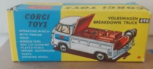 Corgi Toys Volkswagen Breakdown Truck Original Box Only