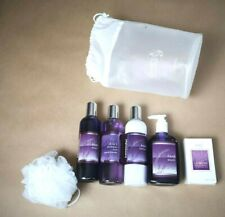 Clarity Collection Bath Gift Set LAVENDER Aromatherapy Shampoo Body Wash- B892