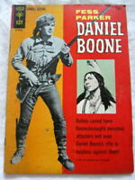 DANIEL BOONE #2 1965 GOLD KEY FESS PARKER PHOTO COVERS 7.5 VF/FN