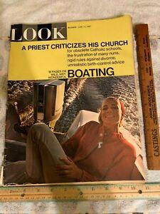 LOOK MAGAZINE JUNE 13, 1967 VINTAGE