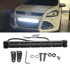 DC 10-30V 10 LED Curved Flood Spot Work Light Bar 20W For Offroad Truck Lamp
