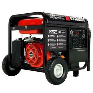 DuroStar DS13000E 13000 Watt 500cc Gasoline Portable Generator w/ Push Button