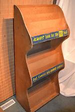 Vtg 1930-40s Dell COMIC BOOK Wood store Display Rack Shelf Case