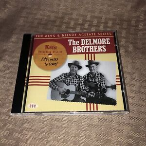 MINT CONDITION! The Del more Brothers Fifty Miles to Travel Audio CD
