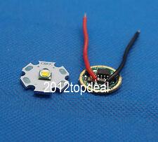 10W Cree XM-L T6 Cool White LED Light + DC 3.7V 2.5A XML LED Dimmer Driver DIY