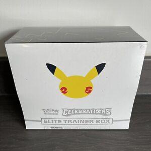 Pokemon 25th Anniversary Celebrations Elite Trainer Box (ETB) - Ready To Post