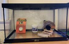Reptile Turtle Frog Lizard Snake Habitat/ Tank (10 Gallon)