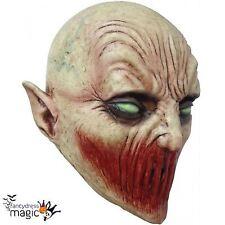 Childs Junior Látex Mortal silencio Alien Demonio Halloween Horror Máscara de Vestido de fantasía