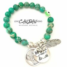 Gift Evil Eye I Love You Mum Live Your Dream Lotus Angel Wing Charms