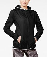 4143dc407b Ideology Women s Packable Wind Jacket Color Black Size Small Medium