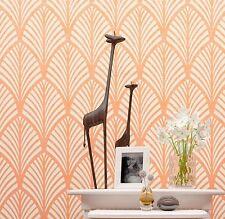 Palm Leafs Wall Stencil - Large stencil - Reusable decorative stencil