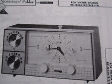 RCA RC-1232A, -1232B,-1232C,-1232D,-1232E,-1232F,-1232H RADIO RECEIVER PHOTOFACT
