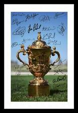 NEW ZEALAND 2011 WORLD CUP WINNERS AUTOGRAPHED SIGNED & FRAMED PP POSTER PHOTO