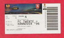 Orig.Ticket  Europa League  2012/13   TWENTE ENSCHEDE - HANNOVER 96  !!  SELTEN