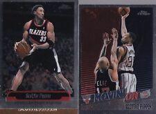 2 Cards - Scottie Pippen - 98-99 Topps Chrome Movin' On #221 & 99-00 Chrome #230