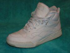 Vintage REEBOK White Ultra Hi HIGH TOP Mens Size 11.5 Sneakers 4-10505 UK 10.5