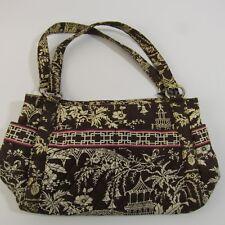 "Vera Bradley Imperial Toile Purse Long Strap Handbag 8x14"" Retired 2010 Bag"