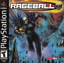 Rageball Rage Ball NEW factory sealed Sony PlayStation 1 PSX PS1