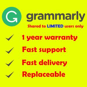Grammatically Checker Grammarlly Premium Account - Sharing