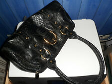 YOUNG COVERI superbe sac à main  noir neuf  (Italie)