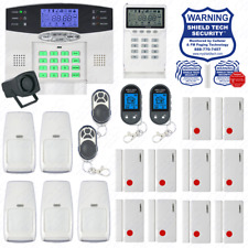 WIRELESS HOME SECURITY SYSTEM LCD BURGLAR HOUSE ALARM VOIP PHONE LINE DIALER ET