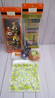 Halloween treat bags and baking cups 3 types of treat bags  C3