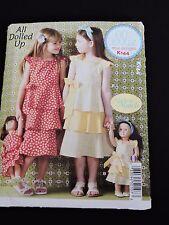 All Dolled Up Made to Match Girls Dolls Dresses Pattern Ellie Mae Kwik Sew K144