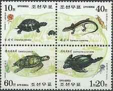 Timbres Reptiles Tortues Corée 2818/21 ** année 1998 lot 17646