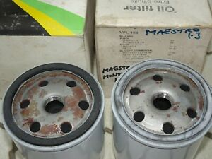 NOS 2x oil filter 1.3 Morris Marina Ital Austin Maestro Montego 1275 Sherpa