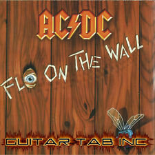 AC/DC Digital Guitar Tab FLY ON THE WALL PDF Lessons on Disc Angus Young