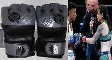 Livia Renata Souza Signed Invicta FC 17 Fight Used Worn Gloves PSA/DNA MMA UFC