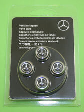 MERCEDES BENZ Original Set of 4 Valve Trim Caps