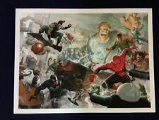 Spider-Man * Grey Matter Marvel Sinister 16 * Paolo Rivera Giclee Print 24 x 18