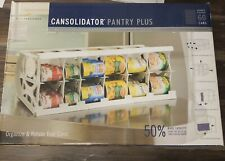 CANSOLIDATOR - Can Rack Organizer Stackable Kitchen Pantry Shelf Food Storage