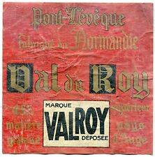 FROMAGE PONT LEVEQUE MARQUE VAL DU ROY VALROY