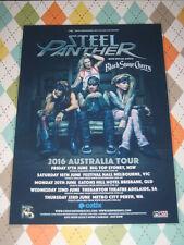 Steel Panther - 2016 Australian Tour - Laminated Promo Tour Poster