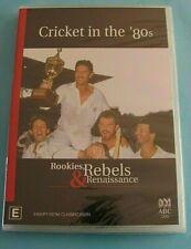 CRICKET IN THE 80's Rookies, Rebels & Renaissance DVD NEW Australian Cricket R4
